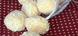 Truffes a la noix de coco