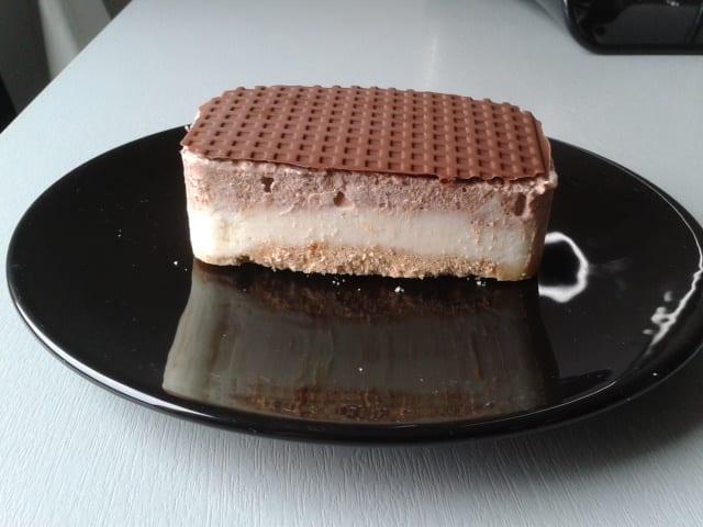bavarois ananas chocolat