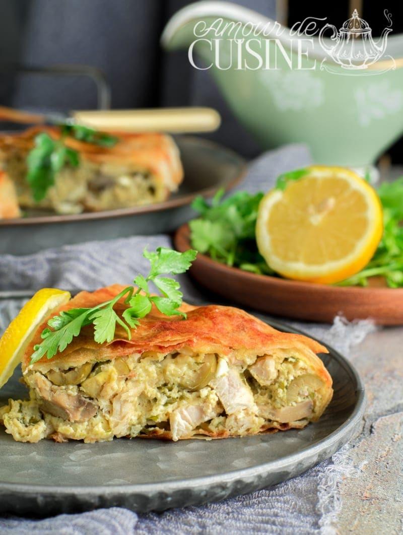cuisine tunisienne Malsouka- tajine tunisien