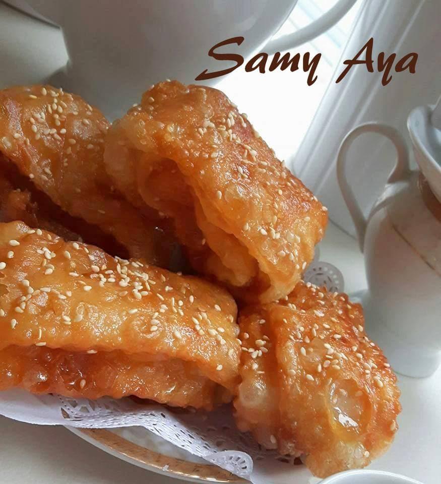 Gâteaux Algériens De Samira Tv: Khechkhach Ou Khochkhach Oreillettes Gateau Algerien
