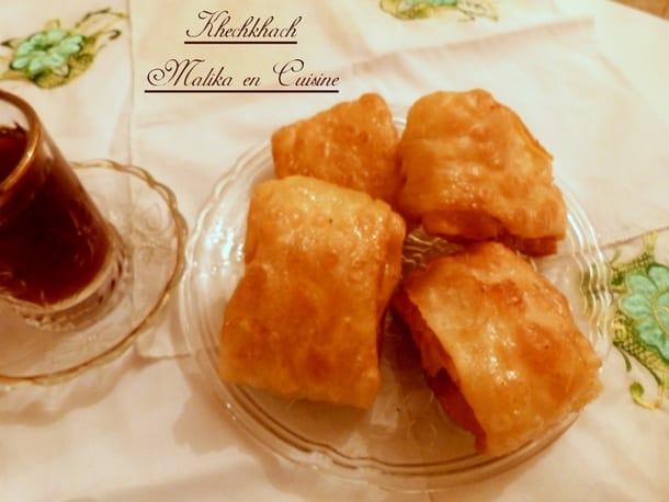 Recette khechkhach ou khochkhach oreillettes gateau for Amour de cuisine 2014