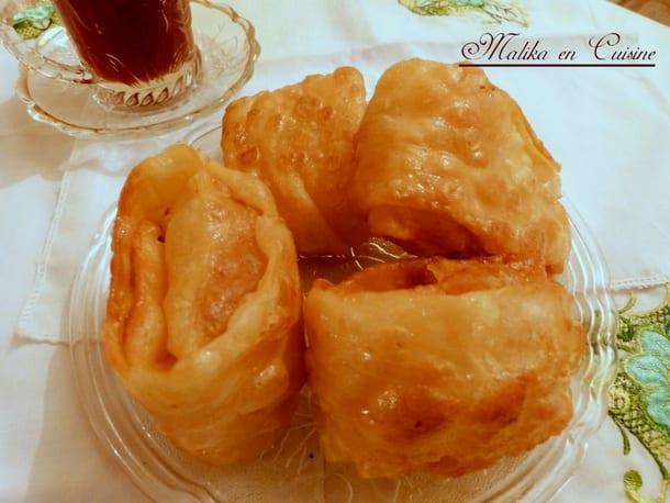 Recette khechkhach ou khochkhach oreillettes gateau algerien - Amour de cuisine gateau sec ...