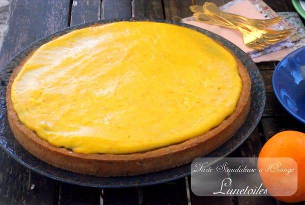 tarte scandaleuse a l'orange la cuisine de Bernard