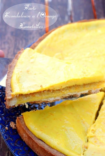 tarte scandaleuse a l'orange la cuisine de bernard - amour de cuisine