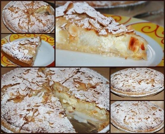 tarte amandine aux poires2