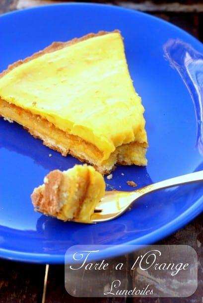 Tarte scandaleuse a l 39 orange la cuisine de bernard amour - La cuisine de bernard tarte au citron ...