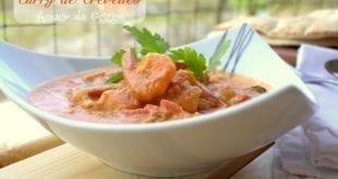 curry de crevettes ou crevettes sautees au curry