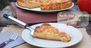tarte aux pommes raffinee
