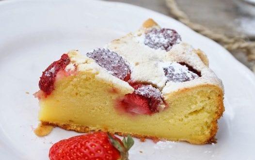Gateaux au yaourt fraise
