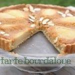 tarte bourdaloue de lunetoile d'après Lenôtre