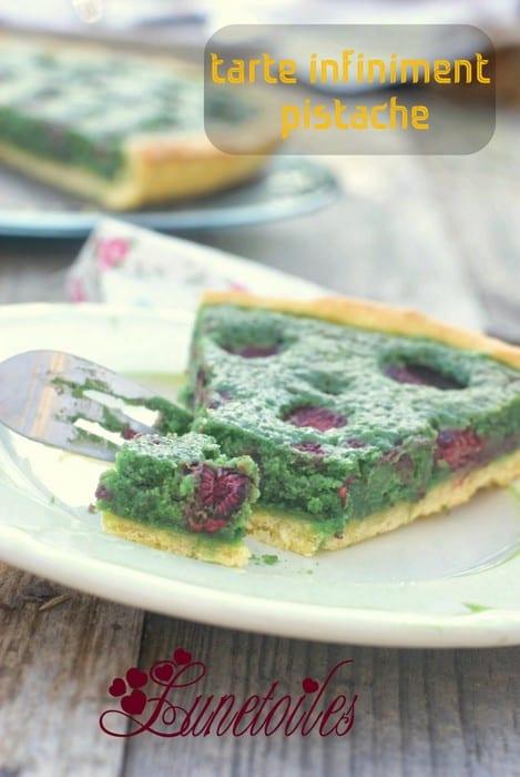 Tarte pistaches framboises amour de cuisine for Amour de cuisine 2014