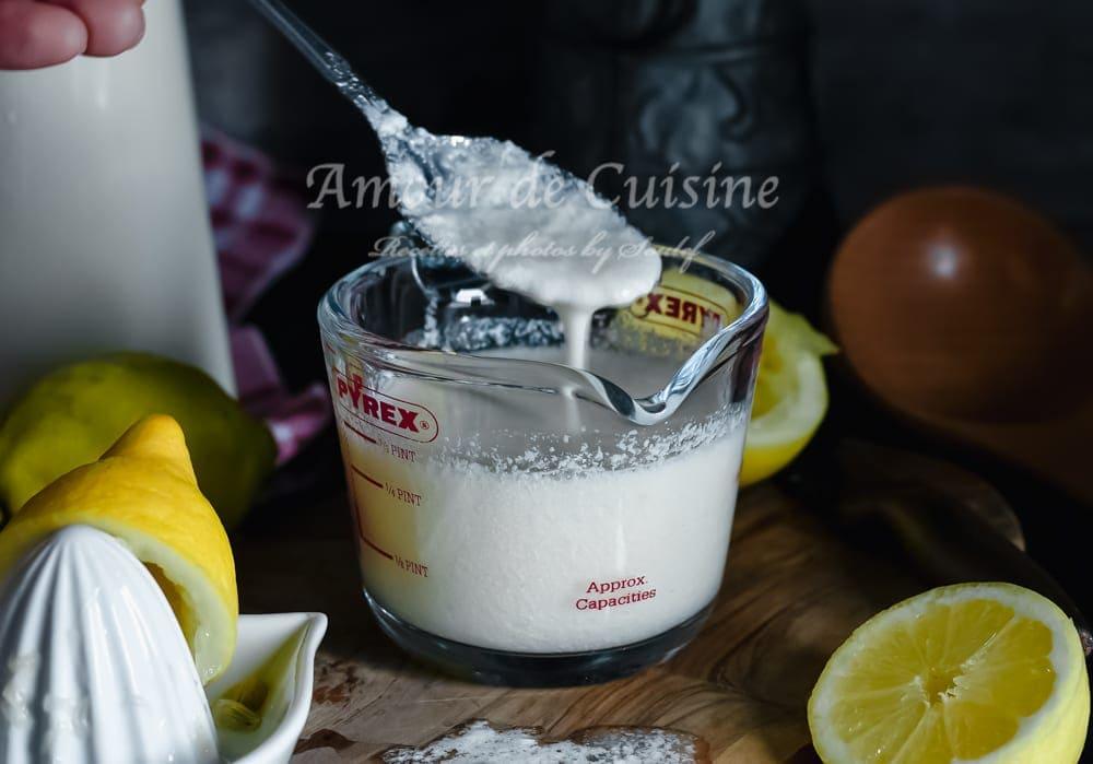 buttermilk, babeurre maison