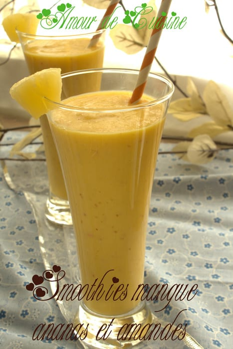 smoothies mangue ananas et amandes.CR2