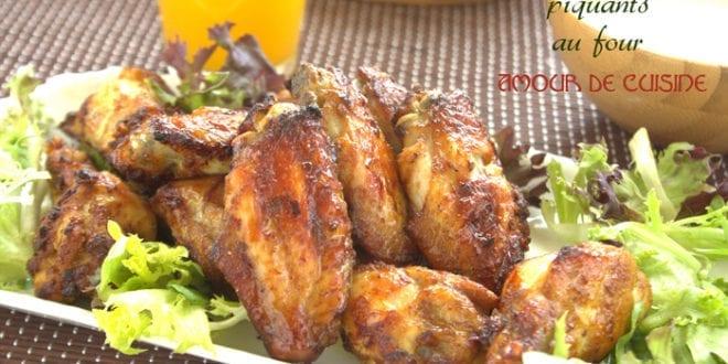 Ailes de poulet piquantes au four