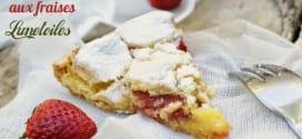 gateau sablé croustillant aux fraises