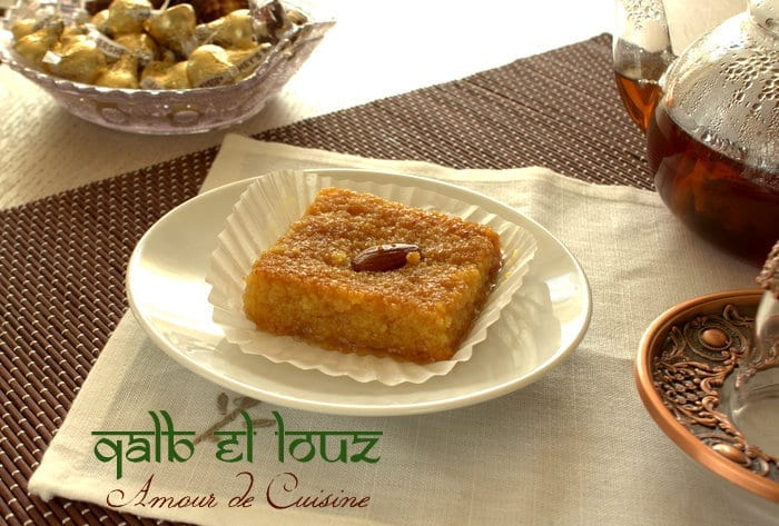 kalb el louz dessert de ramadan amour de