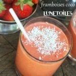 smoothie fraises mangue framboise coco