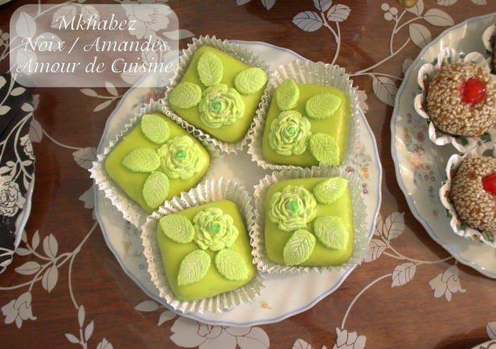 Mkhabez aux noix gateau algerien en video amour de cuisine for Amour de cuisine 2014