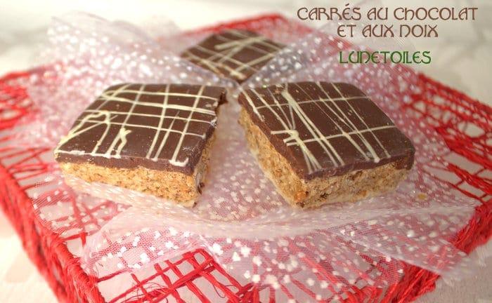 Carr s au chocolat et aux noix gateau marocain amour de for Amour de cuisine 2014
