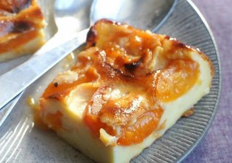 Flognarde aux abricots for Amour de cuisine 2014