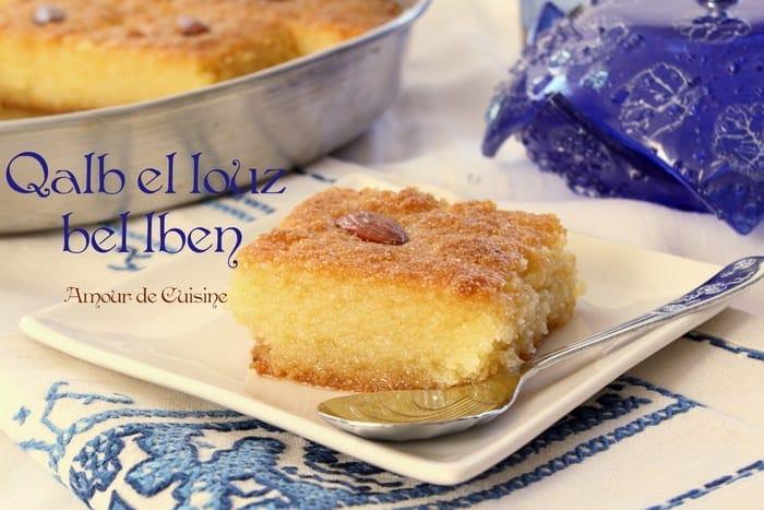 kalb el louz au lben babeurre recette inratable