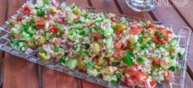 taboulé libanais / salade variée au Boulgour