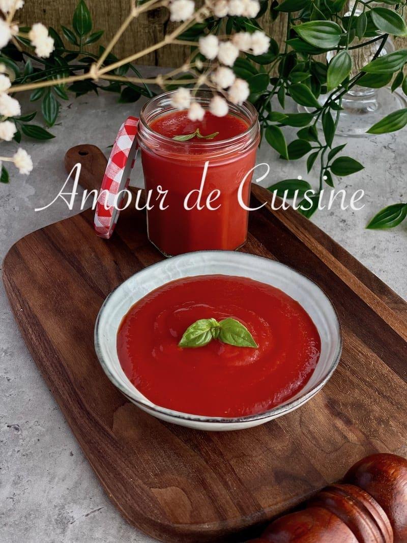recette de coulis de tomates facile