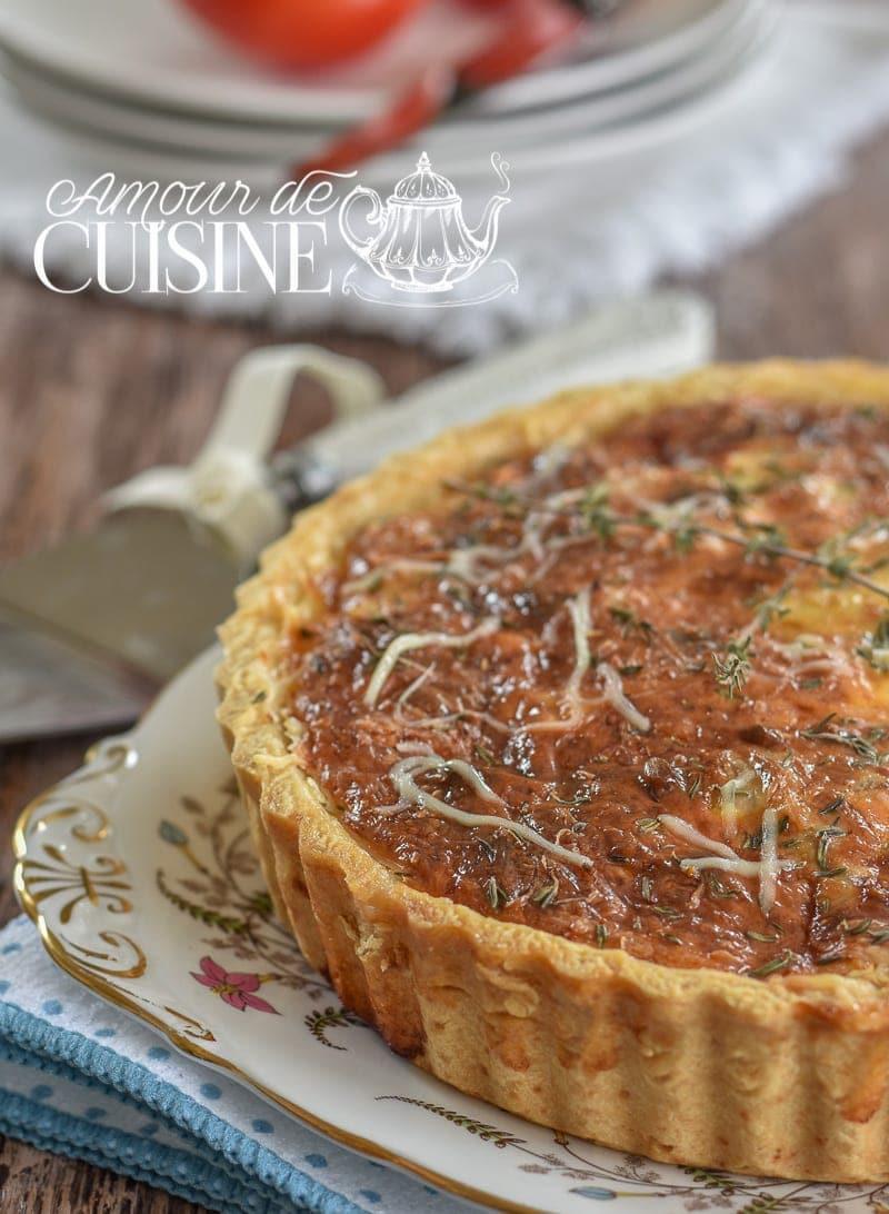 Tarte au thon et tomates amour de cuisine for 1 amour de cuisine