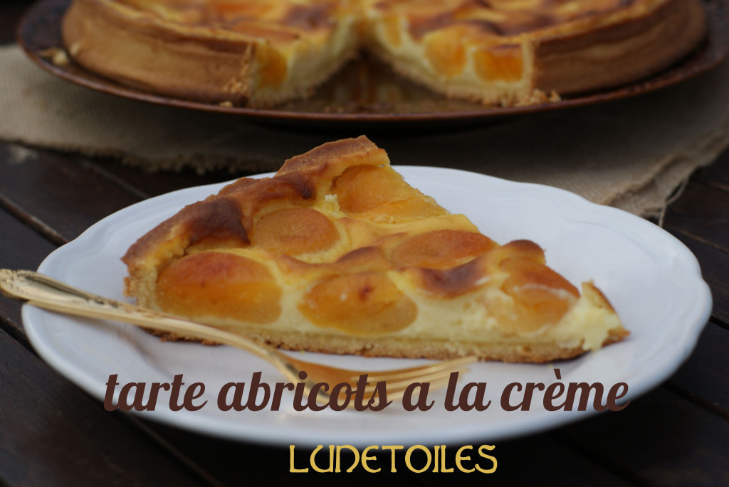 Tarte d 39 abricots a la cr me patissiere amour de cuisine - Recette de tarte aux abricots ...