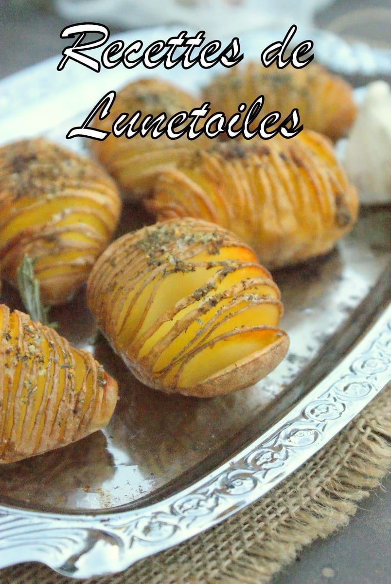 Recette hasselback potatoes, pommes de terre rôtie a la suédoise 2
