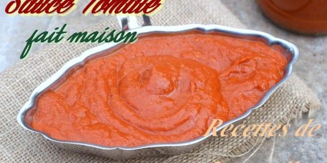 Sauce tomate fait maison facile pour pizza