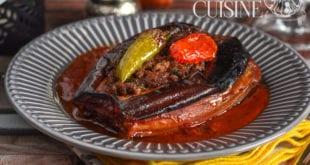 recette aubergine farcie au four