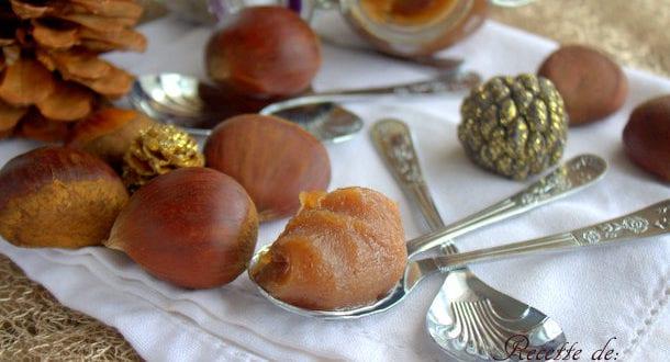 recette de la crème de marrons maison