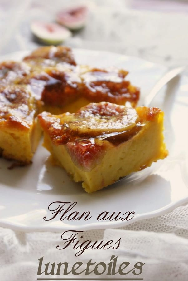 flan aux figues