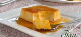 Flan cheesecake