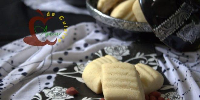 ghribia aux cacahuetes gateau algerien facile