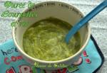 recettes pour bebe 4 a 6 mois puree de courgettes et riz