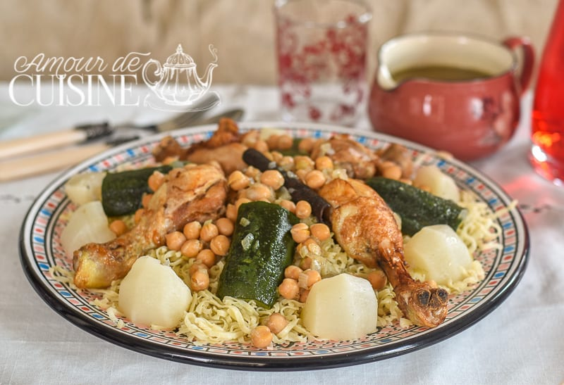 rechta alg roise cuisine algerienne amour de cuisine