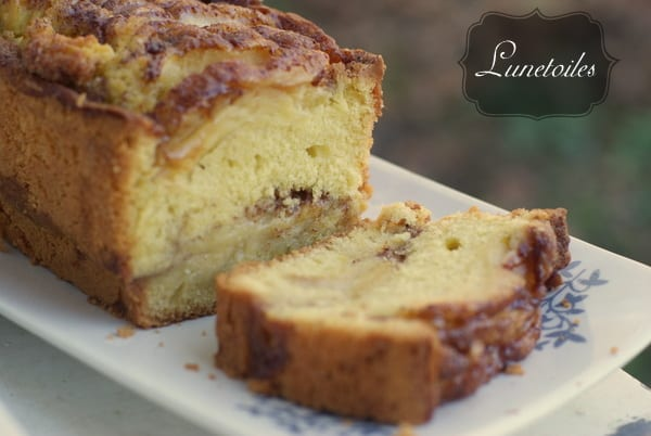 Cake Aux Pommes Et  Ef Bf Bd La Cannelle  Ef Bf Bd L Ancienne
