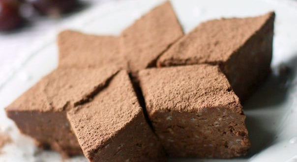 gâteau châtaigne – chocolat gateau sans cuisson
