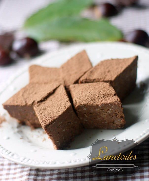gâteau châtaigne - chocolat 1