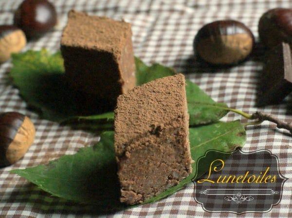 G teau ch taigne chocolat gateau sans cuisson amour de cuisine - Chataigne a l eau ...