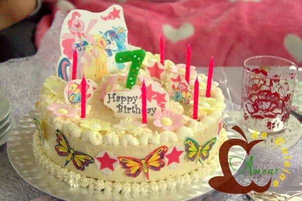 anniversaire de ines deja 7 ans - amour de cuisine