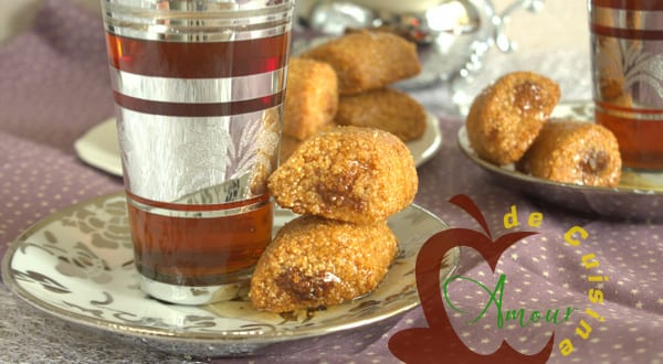 Makrout laassel aux amandes amour de cuisine for Amour de cuisine 2014