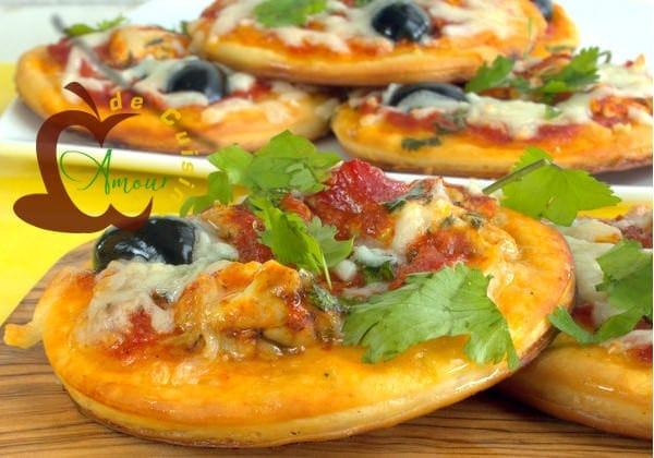 mini pizza a la cervelle de l agneau amour de cuisine