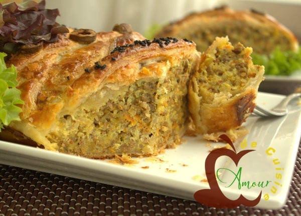 Tajine warka ou tajine tunisien en pate feuilletee for Amour de cuisine 2014