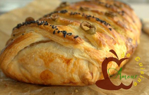 Tajine warka ou tajine tunisien en pate feuilletee amour de cuisine - Recette salee pate feuilletee ...