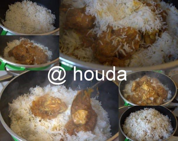 recette indienne biryani au poulet