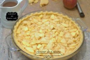 recette apple pie d'automne au caramel au beurre salé