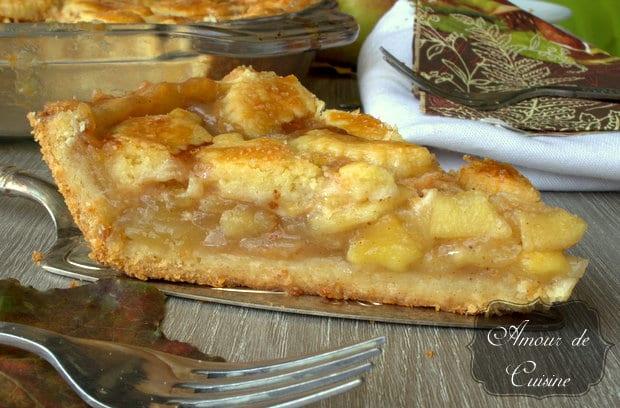 apple pie d'automne au caramel au beurre salé